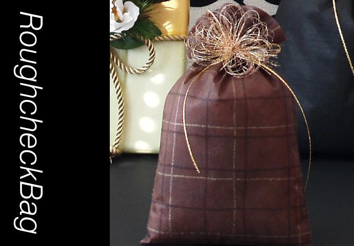 ラフチェックバッグの使用イメージ2
